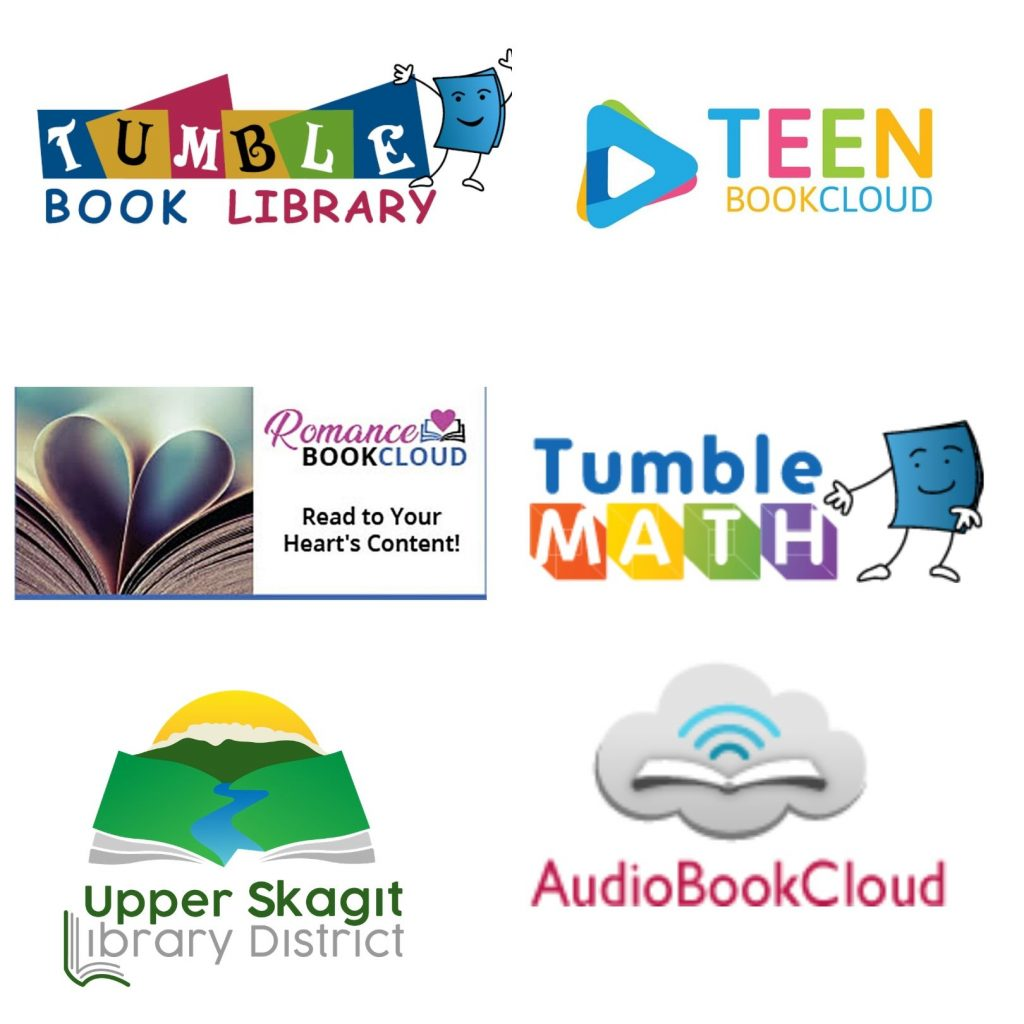 Image containing the logos of new online resources.