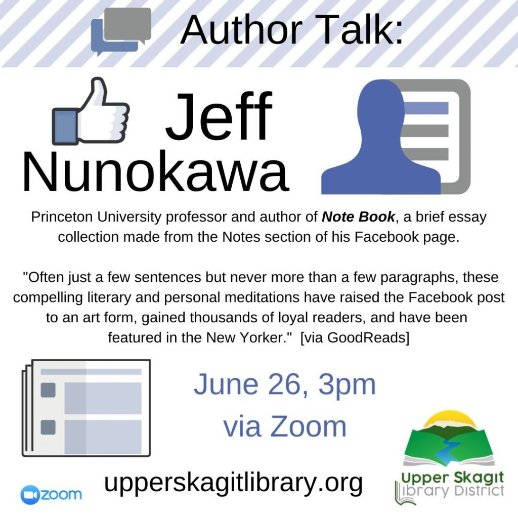 Virtual Author Talk Jeff Nunokawa